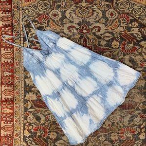 7 FAM Tie-Dyed Jean Dress